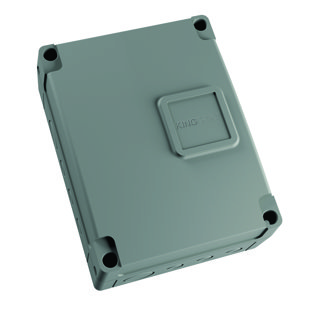 Bīdāmo un veramo vārtu automātikām 230Vac vadības bloks STARG8 AC ar kasti