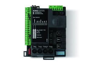 Bīdāmo un veramo vārtu automātikām 24Vdc vadības bloks STARG8 24 bez kastes