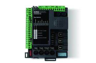 Bīdāmo un veramo vārtu automātikām 230Vac vadības bloks STARG8 AC bez kastes